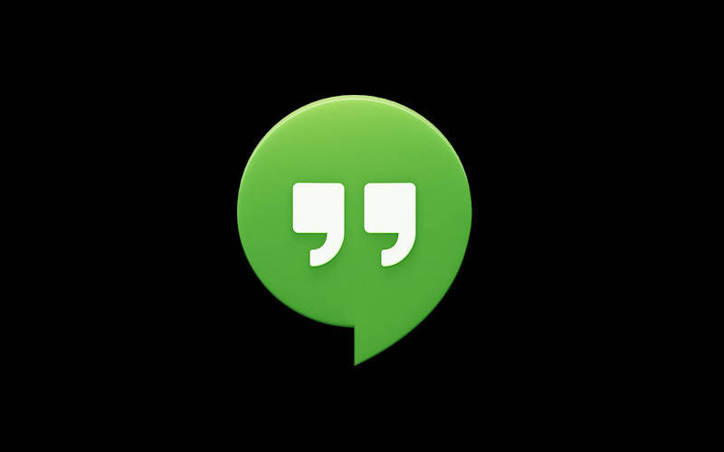 Google Hangouts, messaging apps, chat applications