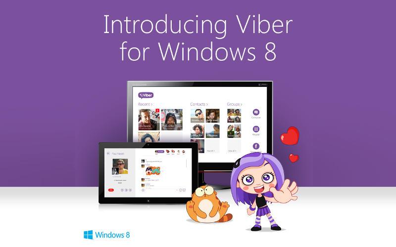 Viber, Windows 8 apps, Viber for Win8