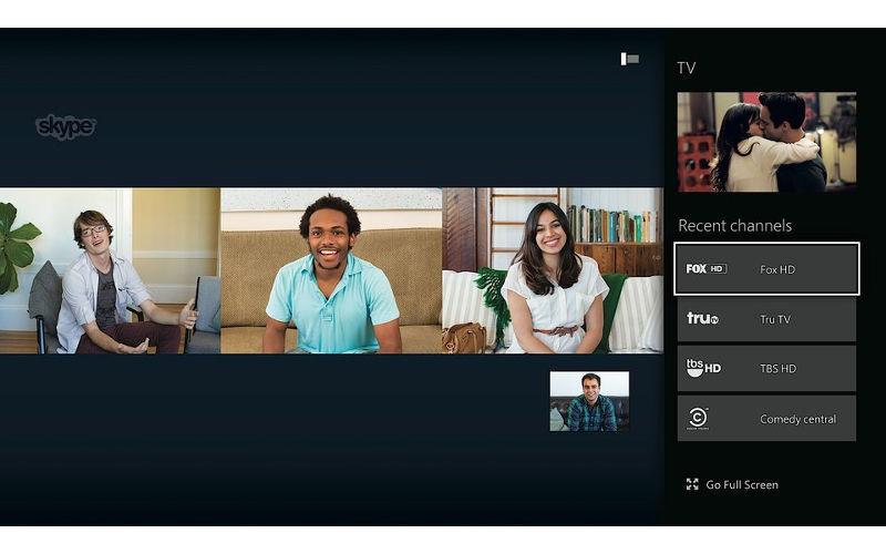 Skype, Xbox One, Xbox One Apps