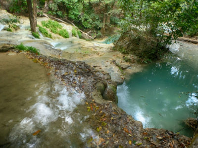 מפלי ארוואן קנצ'נבורי Erawan waterfalls