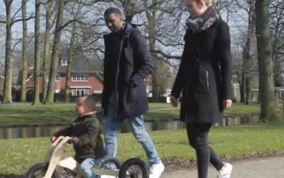 Trybike in een filmpje over Downsyndroom