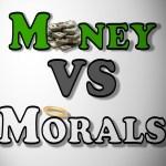 Angående investeringar och moral