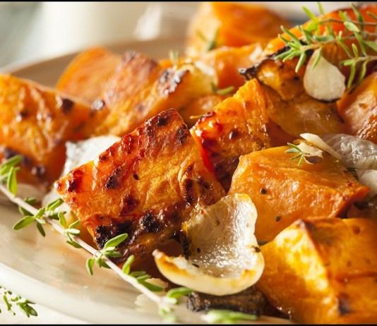 savory herbal sweet potatoes