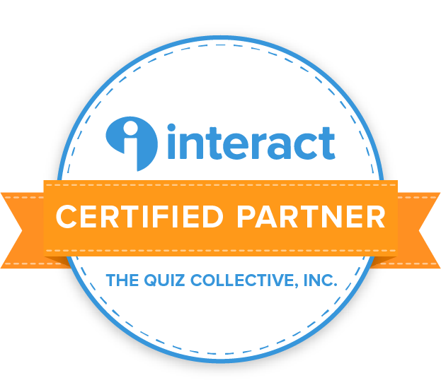 Interact Certified Partner The Quiz Collective, INC badge