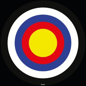bullseye målskive
