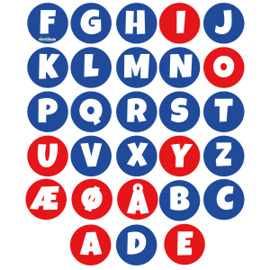 Alfabet dansk