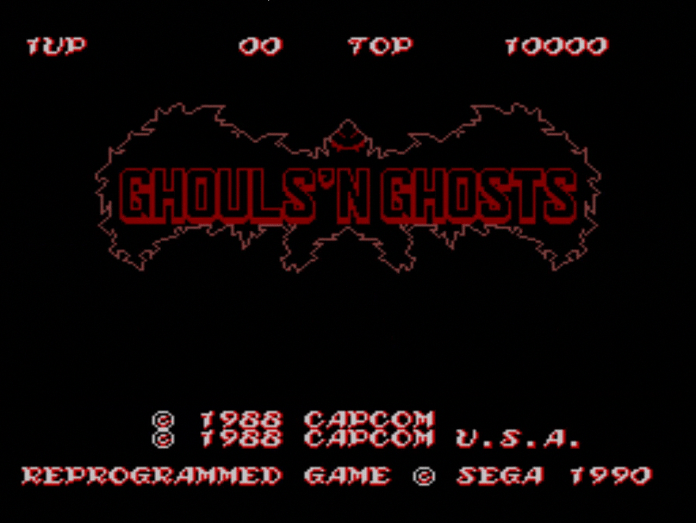 Ghouls 'n Ghosts for the Sega Master System
