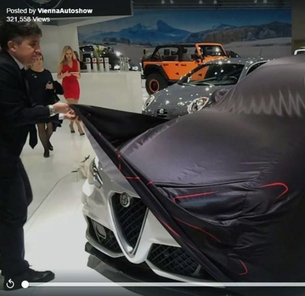Vienna Autoshow   Virales Facebook Posting