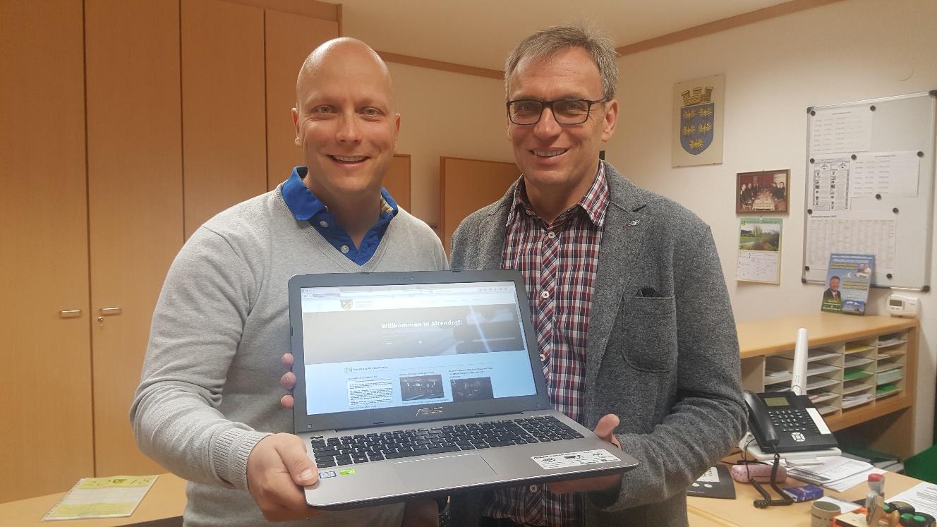 Gemeinde Altendorf   Website Relaunch