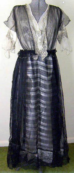 1914 evening dress