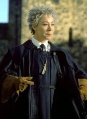 Madam Hooch in Harry Potter & the Sorcerer's Stone