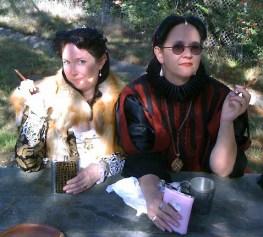 Sarah & Violet