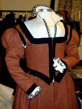 Gown closeup, photo from Sarah