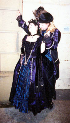 Trystan & Thomas at the GBACG's Faerie Tale Masquerade Ball, 1996