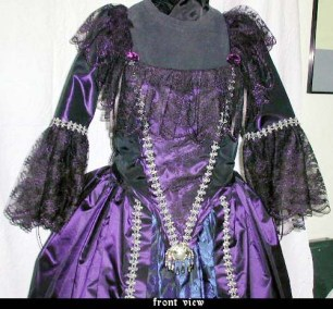 faerie-tale 18th-c. gown bodice