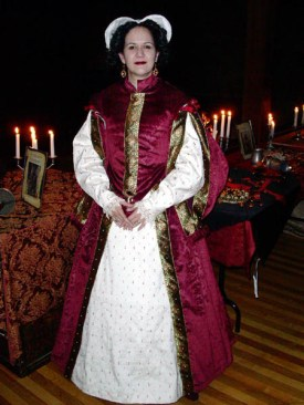 Full view of my 1590s gown