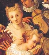 1585 painting by Ludovico Pozzoserrato
