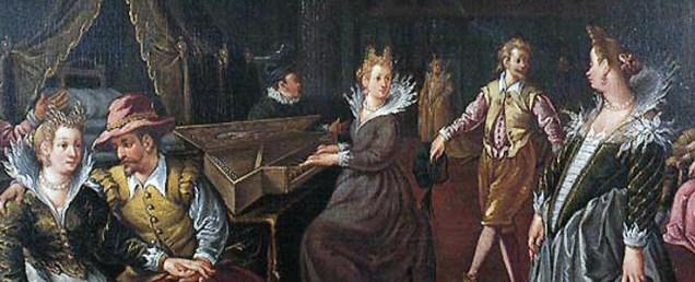 1590 painting by Ludovico Pozzoserrato