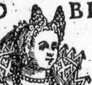 1590 bride outside by Vecellio
