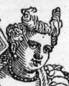 1590 prostitute in public by Vecellio