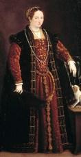 1567 - Unknown Lady by Domenico Riccio (image source: Palazzo Thiene)