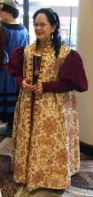 Zimarra & gown, photo by Jocelyn of Rowenwood