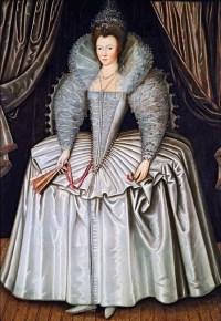 1595-1605, probably Elizabeth Southwell, maid of honour to Queen Elizabeth I