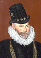 1591, Admiral Sir John Hawkins by Hieronimo Custodis. Image source: Wikimedia Commons