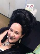 Wig & jewelry selfie