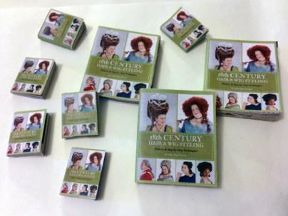 Miniature versions of Kendra's book