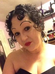 Betty Boop selfie