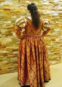 Léa's new Venetian gown, photo by Sandra Linehan
