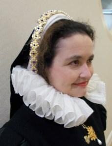 Elizabeth de Belcaire's French hood