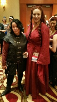 Tyrion & Melisandre. Photo by Angela Bacci.