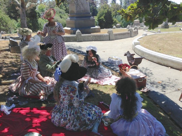 Lumieres Bastille Day picnic
