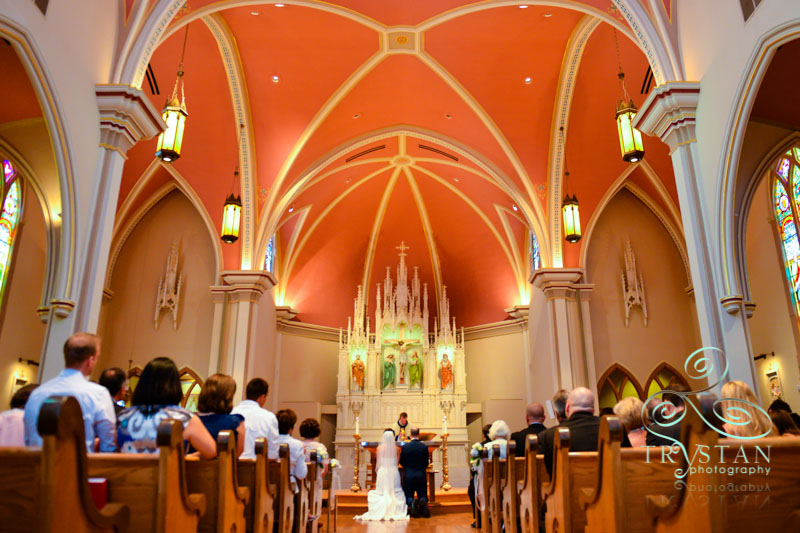 A wedding at St. Mary's Cathedral and Phantom Canyon