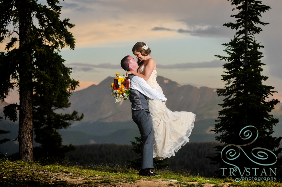 Wedding photography at Timber Ridge at Keystone