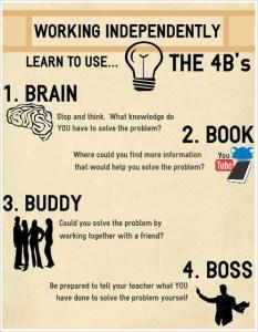 Brain > Book > Buddy > Boss