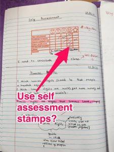 Self/Stamped