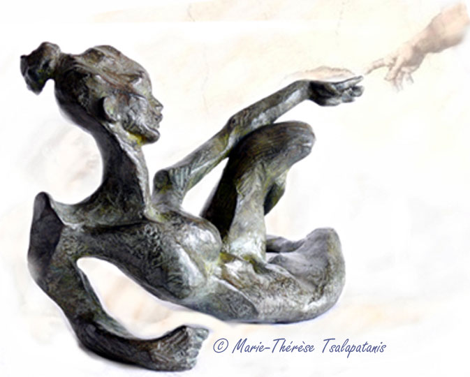 sculpture-marie-therese-tsalapatanis-eve-2006-2