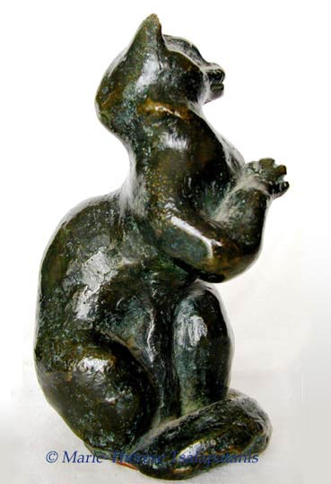 sculpture-marie-therese-tsalapatanis-chaton1