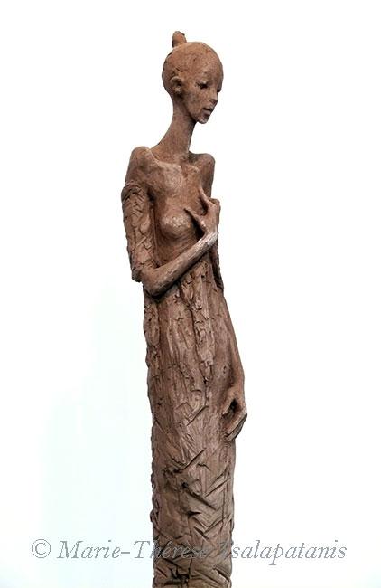 sculpture-marie-therese-tsalapatanis-Ophélie