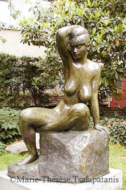 sculpture-marie-therese-tsalapatanis-Osanna-grande