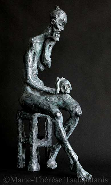 sculpture-marie-therese-tsalapatanis-Madeleine