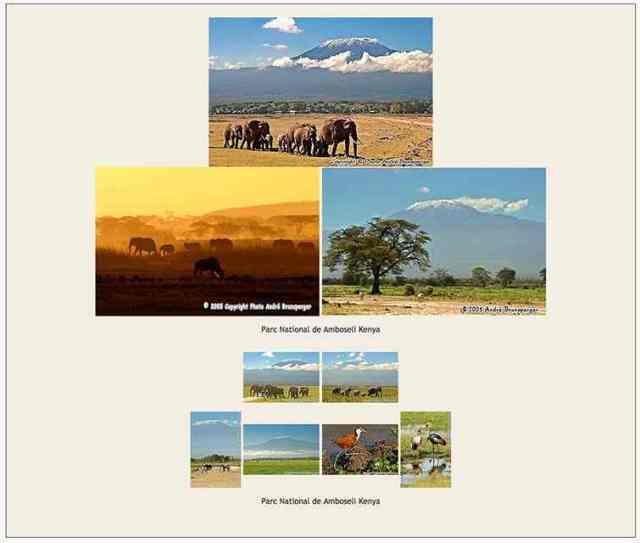 Amboseli- Safaris 3jours Tsavo Amboseli Kenya