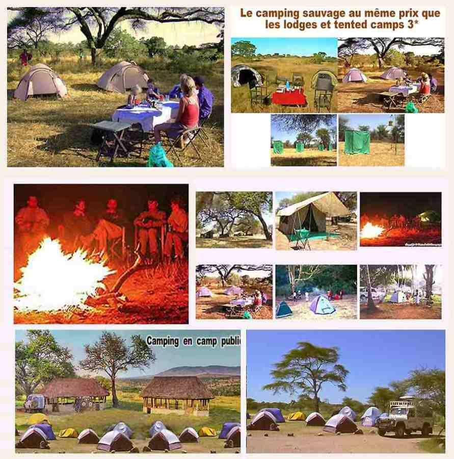 Safari Tsavo en Camping 3jours depuis Diani Beach Kenya.