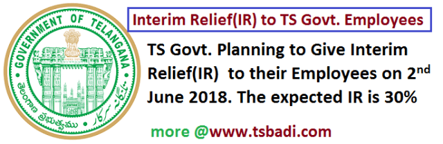 IR TS PRC2018 Telangana Govt employees june2 telangana formation day