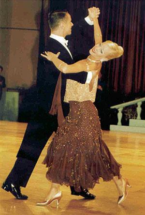 Tanzpaar Pia klein
