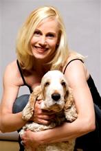 Pia mit Hund