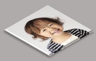 平行投影を適用した写真に「影―外側」を適用した例